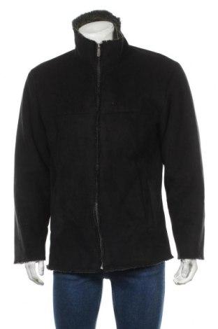 Мъжко палто Joseph Abboud, Размер M, Цвят Черен, Полиестер, Цена 27,35лв.