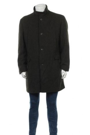 Palton de bărbați Selected Homme, Mărime XXL, Culoare Verde, 60% lână, 35% poliester, 5% alte fire, Preț 79,01 Lei