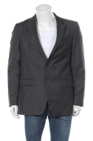 Мъжко сако, Размер L, Цвят Сив, Вълна, Цена 8,20лв.