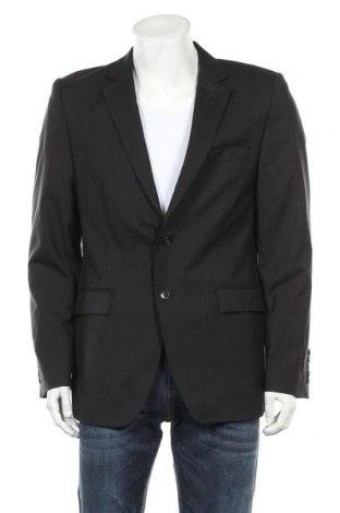 Мъжко сако, Размер XL, Цвят Черен, Вълна, Цена 13,65лв.