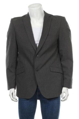 Мъжко сако Angelo Litrico, Размер L, Цвят Сив, 83% полиестер, 17% вискоза, Цена 7,09лв.