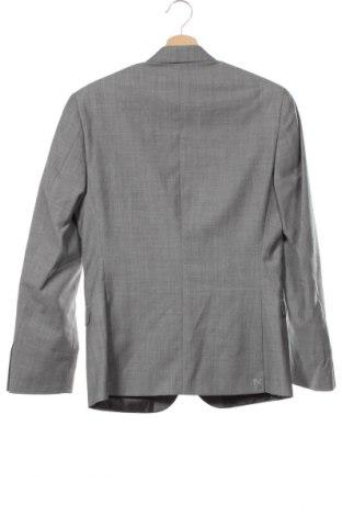 Мъжко сако Ben Sherman, Размер M, Цвят Сив, 95% вълна, 5% мохер, Цена 29,59лв.
