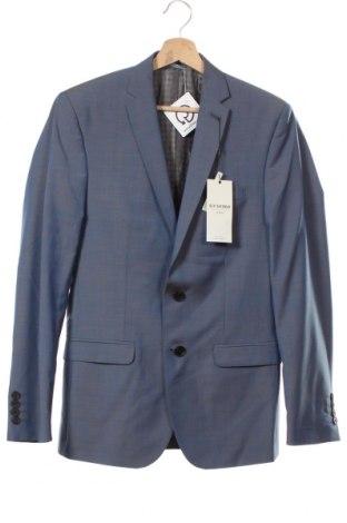 Pánské sako  Ben Sherman, Velikost M, Barva Modrá, 95% vlna, 5% mohair , Cena  429,00Kč