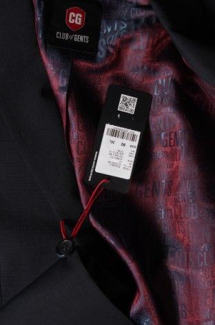 Мъжко сако Club Of Gents, Размер M, Цвят Син, 68% полиестер, 30% вълна, 2% еластан, Цена 29,75лв.
