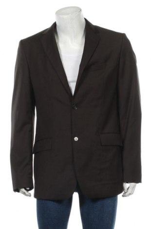 Мъжко сако Esprit, Размер L, Цвят Кафяв, Вълна, Цена 9,88лв.