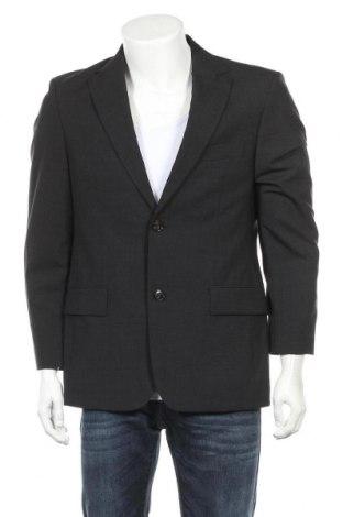 Мъжко сако Hugo Boss, Размер M, Цвят Сив, 96% вълна, 4% еластан, Цена 88,50лв.