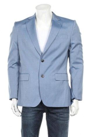 Ανδρικό σακάκι J.Lindeberg, Μέγεθος M, Χρώμα Μπλέ, 54% μαλλί, 42% βισκόζη, 4% ελαστάνη, Τιμή 37,38€