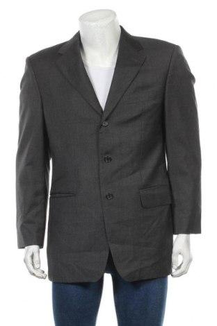 Мъжко сако Kaiser Design, Размер L, Цвят Сив, Вълна, Цена 8,14лв.