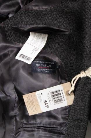 Мъжко сако Mo, Размер M, Цвят Сив, 58% вълна, 38% полиестер, 4% други тъкани, Цена 66,75лв.