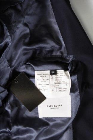 Мъжко сако Paul Rosen, Размер L, Цвят Син, Вълна, Цена 29,59лв.