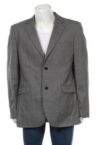 Мъжко сако Peter Fitch, Размер XL, Цвят Сив, Вълна, Цена 8,93лв.