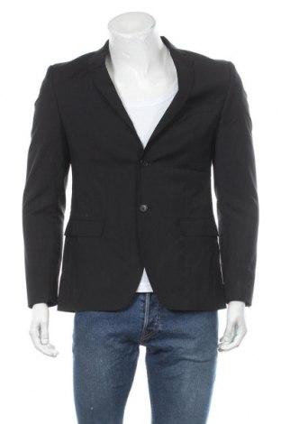 Мъжко сако S.Oliver, Размер M, Цвят Черен, Вълна, Цена 25,72лв.