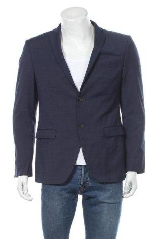 Pánské sako  S.Oliver, Velikost M, Barva Modrá, 54% polyester, 44% vlna, 2% elastan, Cena  712,00Kč