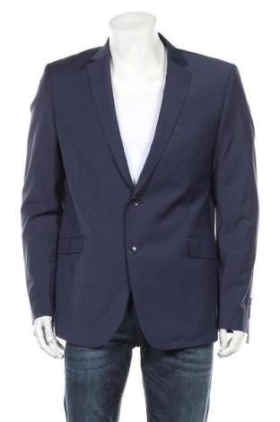 Pánské sako  Strellson, Velikost XL, Barva Modrá, 53% polyester, 43% vlna, 4% elastan, Cena  676,00Kč