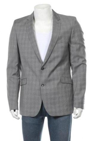 Мъжко сако Strellson, Размер L, Цвят Сив, Вълна, Цена 10,24лв.