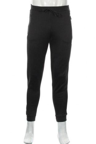 Мъжко спортно долнище Ellesse, Размер S, Цвят Черен, 94% полиестер, 6% еластан, Цена 30,72лв.