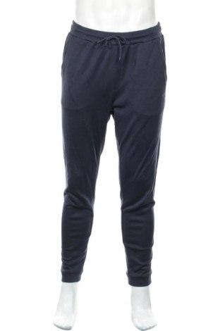 Pánské tepláky  Hugo Boss, Velikost M, Barva Modrá, 94% bavlna, 6% elastan, Cena  1689,00Kč
