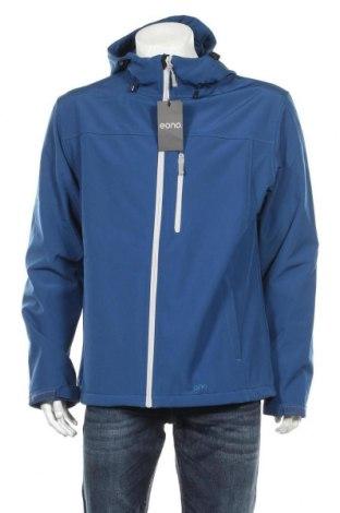 Мъжко спортно яке, Размер XL, Цвят Син, 96% полиестер, 4% еластан, Цена 37,26лв.