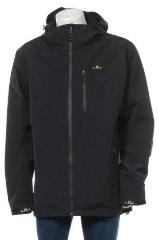 Мъжко спортно яке Jeff Green, Размер 3XL, Цвят Черен, Полиамид, Цена 131,45лв.
