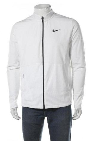 Мъжко спортно яке Nike, Размер M, Цвят Бял, 89% полиестер, 11% еластан, Цена 47,32лв.
