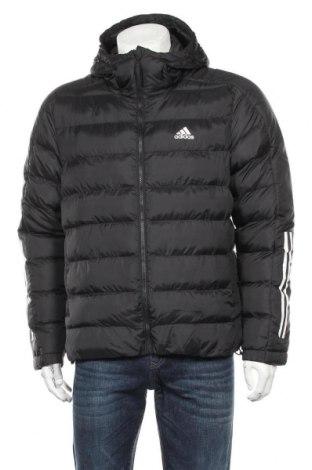 Мъжко яке Adidas, Размер M, Цвят Черен, Полиестер, Цена 199,50лв.