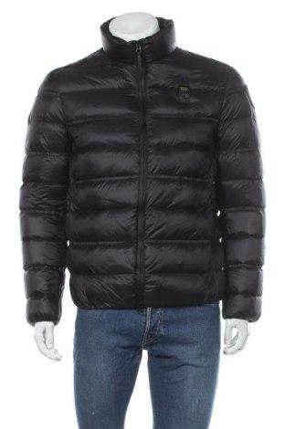 Мъжко яке Blauer, Размер L, Цвят Черен, Полиамид, пух и пера, Цена 128,14лв.