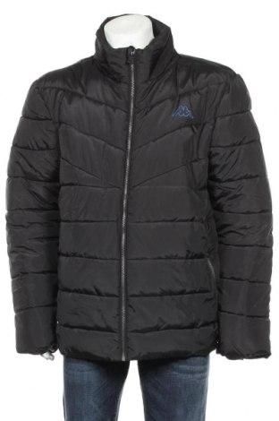 Мъжко яке Kappa, Размер XL, Цвят Черен, Полиестер, Цена 41,06лв.