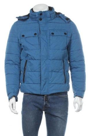 Pánská bunda  S.Oliver, Velikost M, Barva Modrá, 70% bavlna, 30% polyester, Cena  1004,00Kč