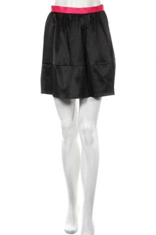 Φούστα H&M Conscious Collection, Μέγεθος S, Χρώμα Μαύρο, 65% πολυεστέρας, 33% βαμβάκι, 2% ελαστάνη, Τιμή 4,68€