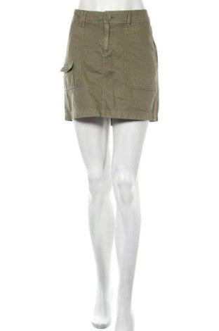 Φούστα H&M L.O.G.G., Μέγεθος L, Χρώμα Πράσινο, Βαμβάκι, Τιμή 4,94€