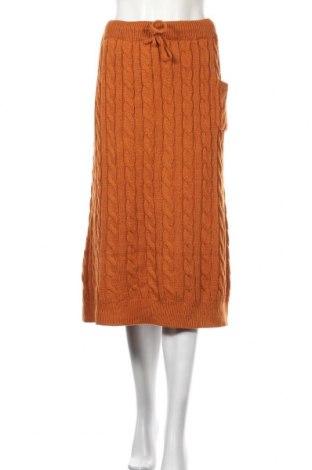 Пола SHEIN, Размер XL, Цвят Оранжев, 60% полиестер, 40% акрил, Цена 16,38лв.