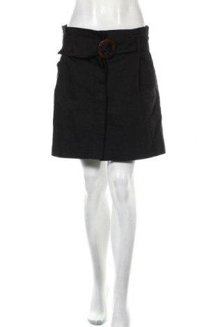 Φούστα Zara Trafaluc, Μέγεθος XL, Χρώμα Μαύρο, 52% πολυουρεθάνης, 45% πολυεστέρας, 3% ελαστάνη, Τιμή 7,05€