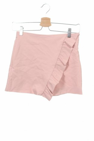 Пола-панталон Zara, Размер 11-12y/ 152-158 см, Цвят Розов, 49% полиестер, 47% памук, 4% еластан, Цена 10,12лв.