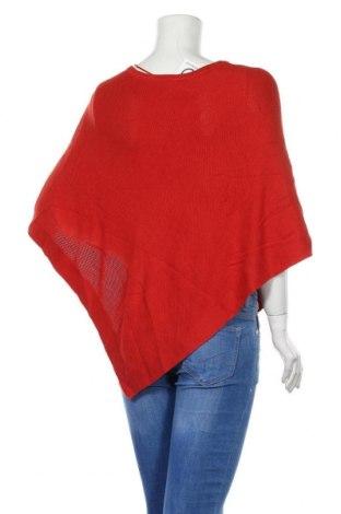 Пончо S.Oliver, Размер M, Цвят Червен, 60% вискоза, 40% памук, Цена 51,35лв.