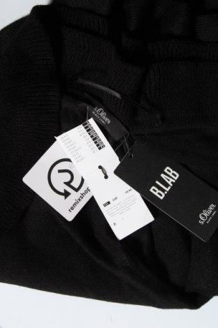 Пончо S.Oliver, Размер M, Цвят Черен, Полиакрил, Цена 57,00лв.