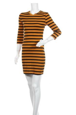 Φόρεμα Lefties, Μέγεθος S, Χρώμα Κίτρινο, 62% πολυεστέρας, 33% βισκόζη, 5% ελαστάνη, Τιμή 10,86€