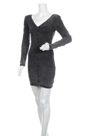 Φόρεμα Lefties, Μέγεθος S, Χρώμα Γκρί, 74% βαμβάκι, 24% πολυεστέρας, 2% ελαστάνη, Τιμή 15,41€