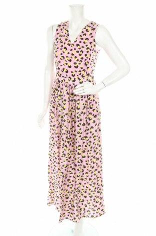 Рокля Love Moschino, Размер S, Цвят Розов, 65% лиосел, 35% вискоза, Цена 96,37лв.