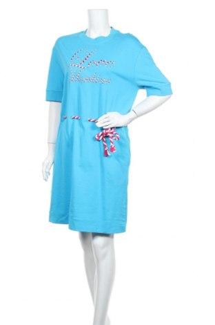 Šaty  Love Moschino, Velikost S, Barva Modrá, Bavlna, Cena  1497,00Kč