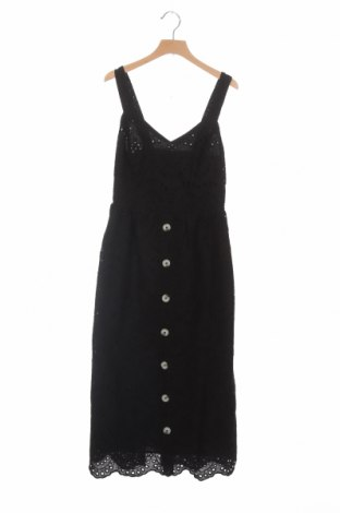 Rochie New Look, Mărime XS, Culoare Negru, Bumbac, Preț 102,63 Lei