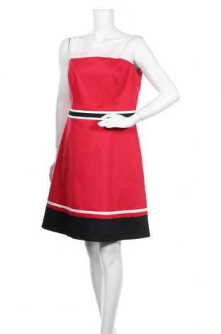 Šaty  S.Oliver, Velikost M, Barva Červená, 98% bavlna, 2% elastan, Cena  323,00Kč