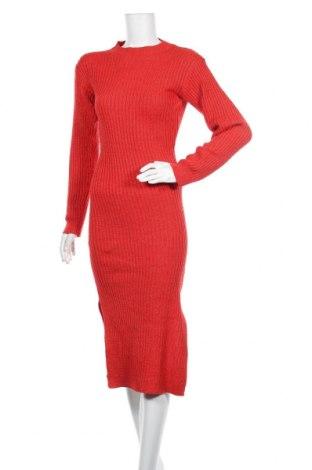 Рокля SHEIN, Размер S, Цвят Червен, 100% полиестер, Цена 20,79лв.