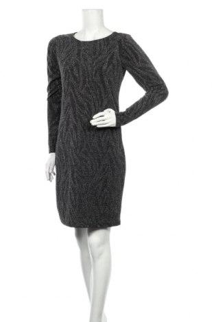 Рокля Vrs Woman, Размер M, Цвят Сребрист, 85% полиамид, 11% метални нишки, 4% еластан, Цена 30,24лв.