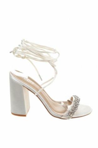Σανδάλια Bebo, Μέγεθος 37, Χρώμα Λευκό, Κλωστοϋφαντουργικά προϊόντα, Τιμή 26,68€