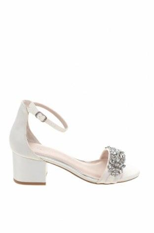 Σανδάλια New Look, Μέγεθος 37, Χρώμα Λευκό, Κλωστοϋφαντουργικά προϊόντα, Τιμή 18,25€