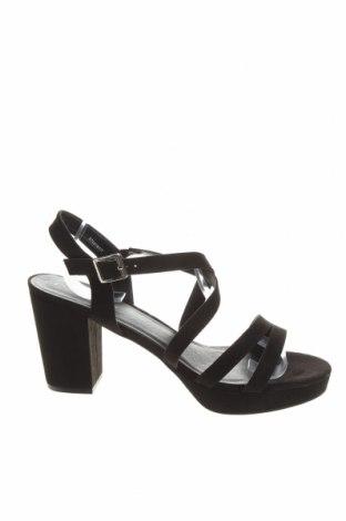 Сандали New Look, Размер 42, Цвят Черен, Текстил, Цена 34,78лв.