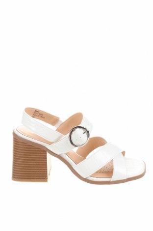 Sandály Simply Be, Velikost 38, Barva Bílá, Eko kůže, Cena  543,00Kč