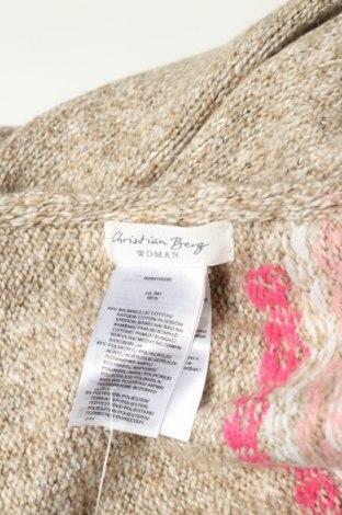 Шал Christian Berg, Цвят Бежов, 49% памук, 45% полиакрил, 6% полиестер, Цена 31,50лв.