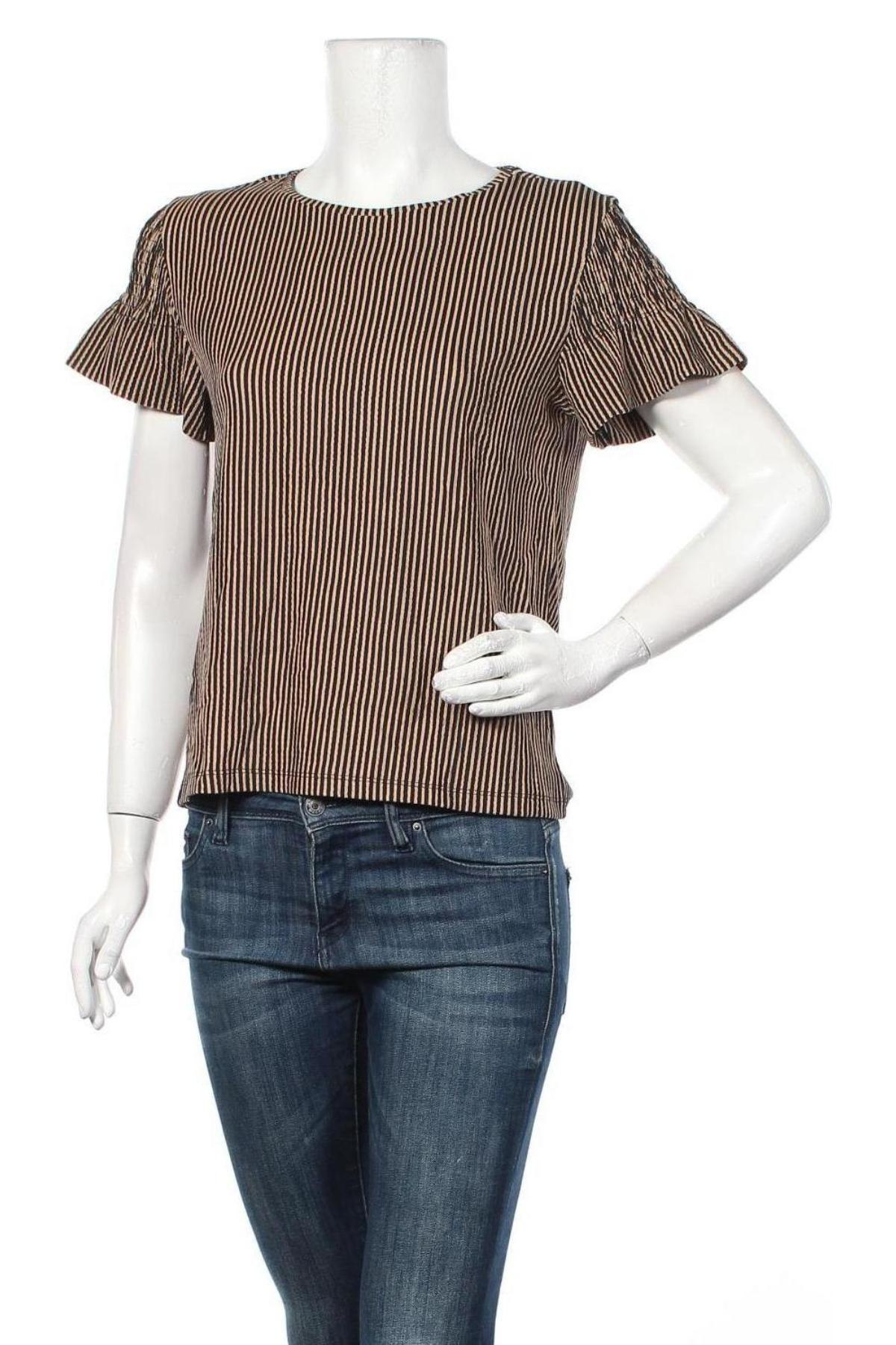 Γυναικεία μπλούζα Tom Tailor, Μέγεθος S, Χρώμα Μαύρο, Τιμή 8,66€