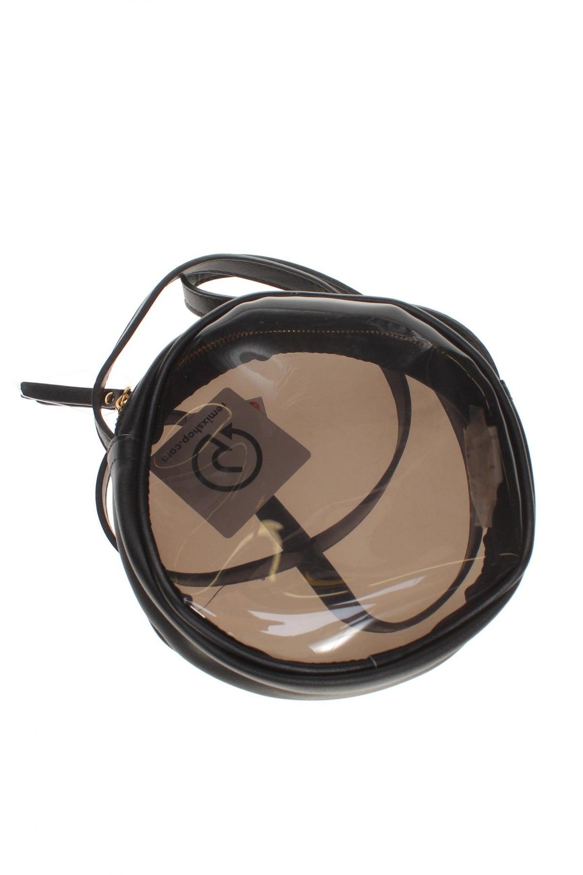 Дамска чанта Lefties, Цвят Черен, Полиуретан, еко кожа, Цена 19,43лв.